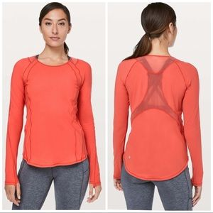 Lululemon Sculpt Long Sleeve In Aries